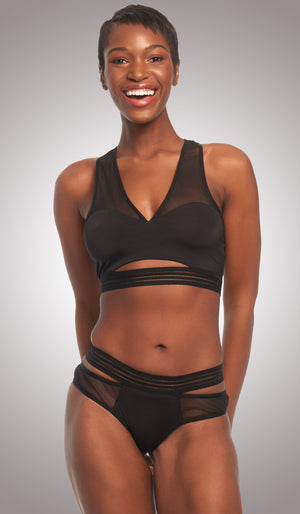 BEE FEARLESS LOW CUT RACER BACK BRA