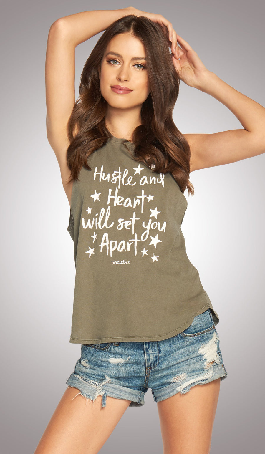 Hustle And Heart Power Tank
