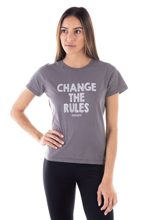Change The Rules Girlfriend Tee