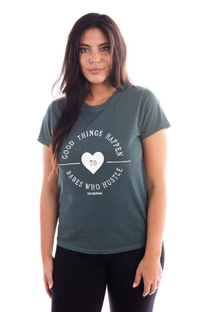 Heart Hustle Girlfriend Tee