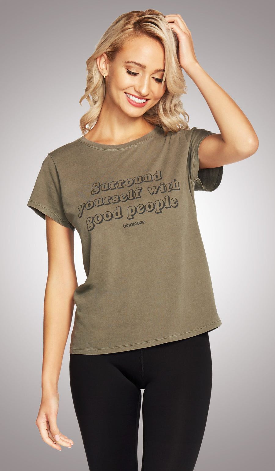 Surround Yourself Girlfriend Tee