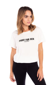 Fight For Her Boyfriend Tee