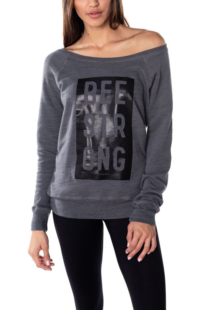 Bee Strong Pullover