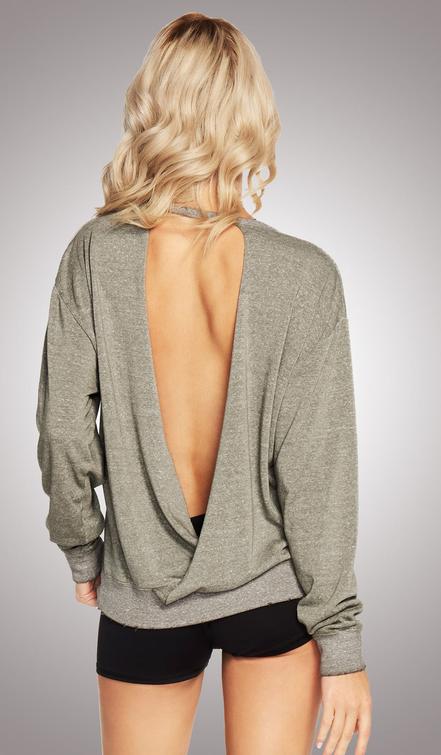 Hustle and Heart Cutout Pullover