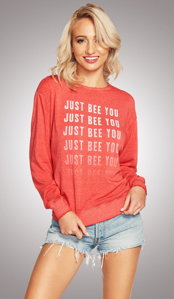 Just Bee You Cutout Pullover