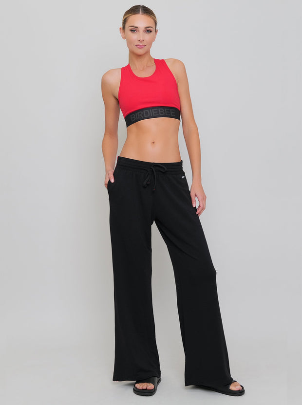 POWER WIDE LEG TRACK PANT