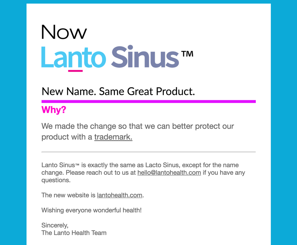 Now Lanto Sinus™