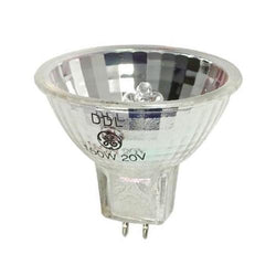 DDL / 43537 GE Lighting 20v 150watt GX5.3 MR16 Halogen Microfilm/Medical Lamp - Lightbulbs Online