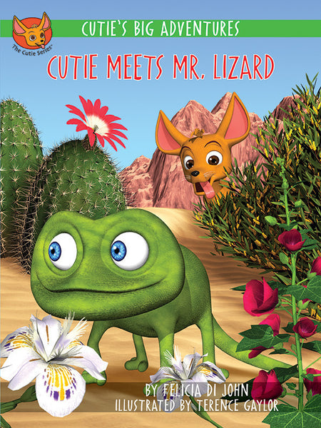 Cutie's Big Adventures - Cutie Meets Mr. Lizard