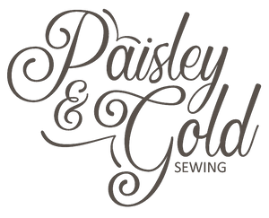 Paisley & Gold Sewing