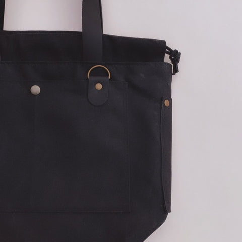 Cincy Project Bag // Black