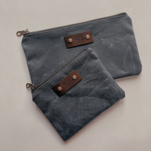Load image into Gallery viewer, Zipper Pouch Set - Slate