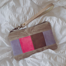 Load image into Gallery viewer, Mean Purls Patchwork Wristlet
