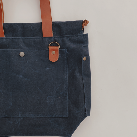 Cincy Project Bag // Navy