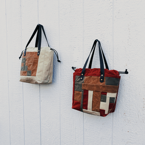 Patchwork Project Bag // 007