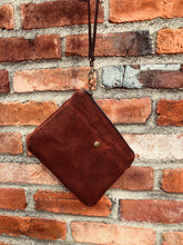 Austin Waxed Canvas Wristlet