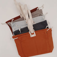 Load image into Gallery viewer, Hamilton Leather Loop Project Bag - Sage