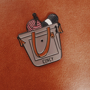 Cincy Project Bag Pin