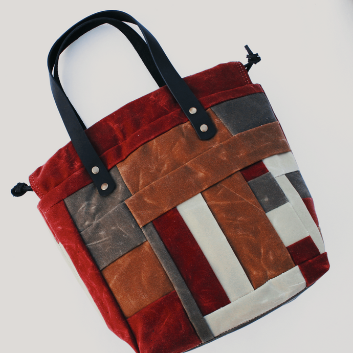 Patchwork Project Bag // 004