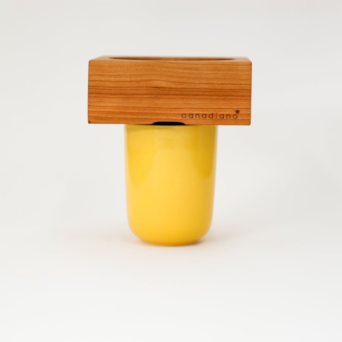 Wooden Pour-Over Coffee Maker