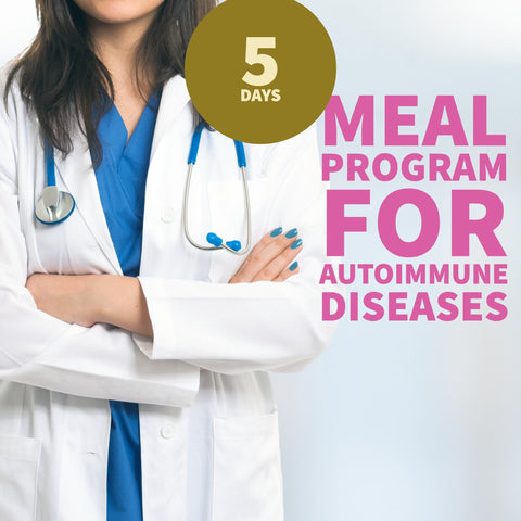 Meal Program for Autoimmune Diseases- Weekly Subscription