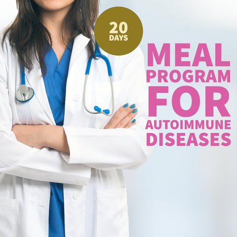 Meal Program for Autoimmune Diseases- Monthly Subscription