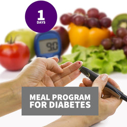 Meal Program for Diabetes- One day