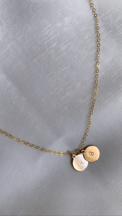 Avie | Necklace with Two Initials
