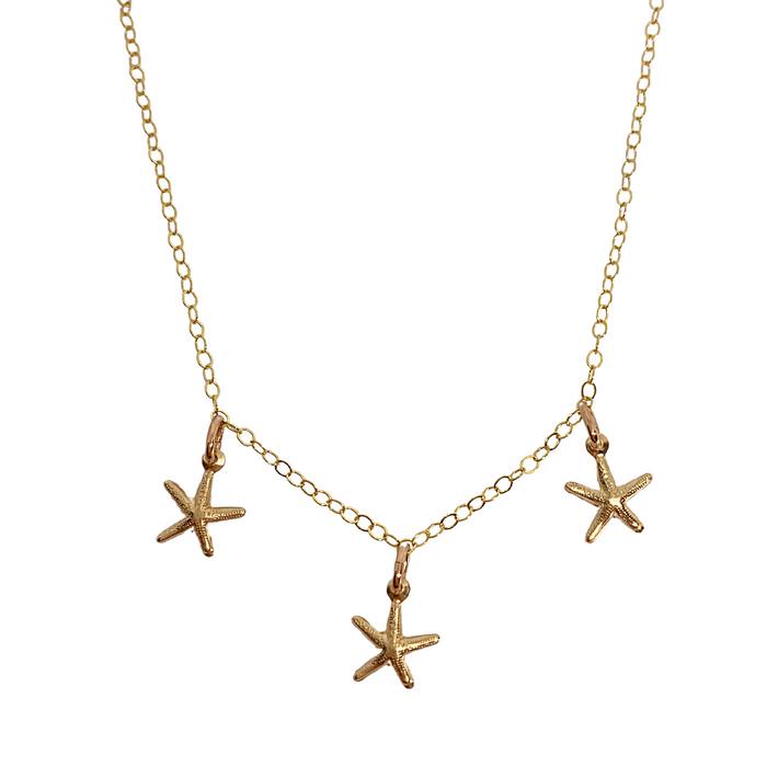 Golden Starfish Bracelet