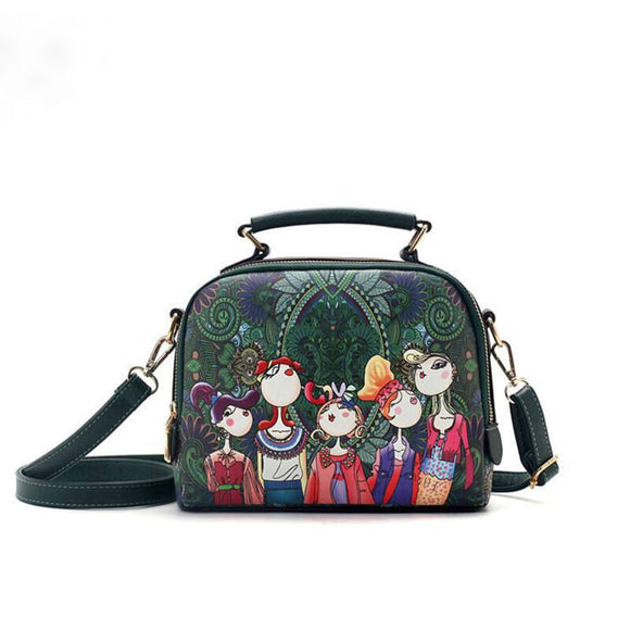 You Will love this Green and Whimsy Shoulder Bag!