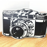 2017 Funny Cartoon camera shaped purse and more! lip smilie vintage tape cassette pattern coin purse lovely double decker Bus change wallet card coin holder bag