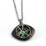 Doctor Strange Necklace Mysterious Eyes Pendant Fashion Necklace in Bronze or Silver