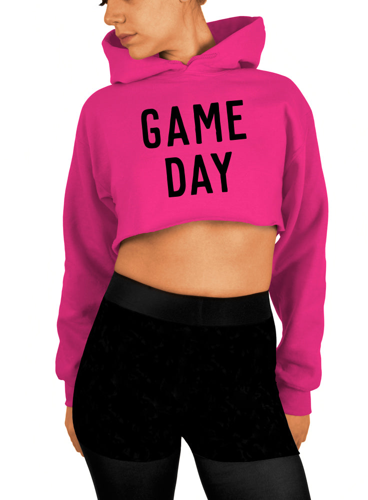 Game Day Crop Top - Cropped Hoodie