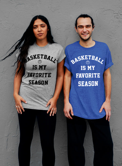 Basketball Is My Favorite Season T-Shirt - Unisex T-Shirt