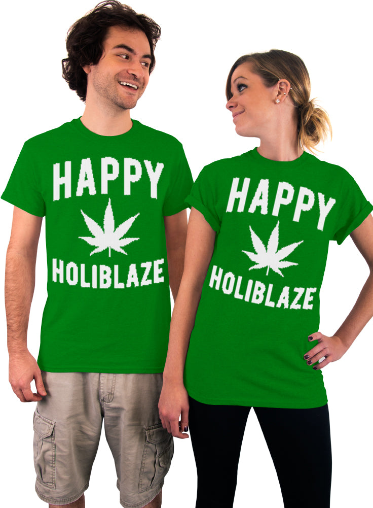 Happy Holiblaze T-Shirt - Unisex T-Shirt