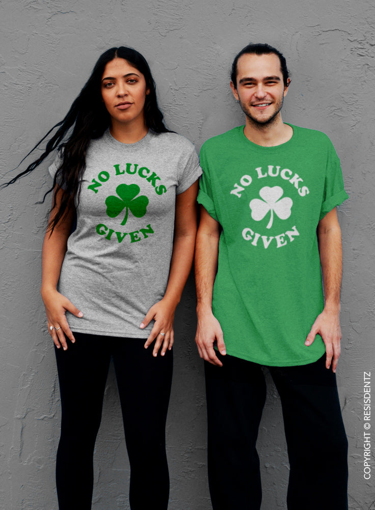 No Lucks Given, St. Patrick's Day T-Shirt - Unisex T-Shirt