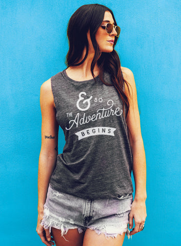 Girlfriend To Fiance Engagement Tank - Muscle Tee