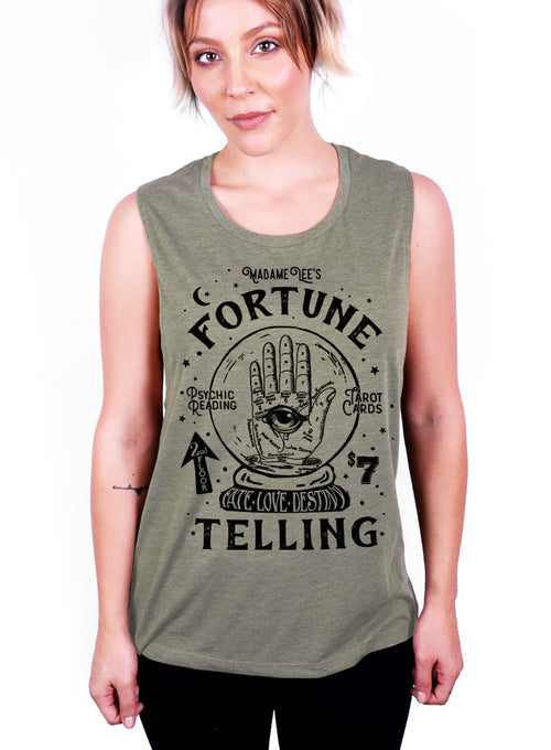 Fortune Teller Tank - Muscle Tee