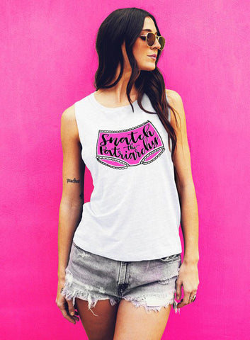 Nasty Woman Feminist Tank - Muscle Tee