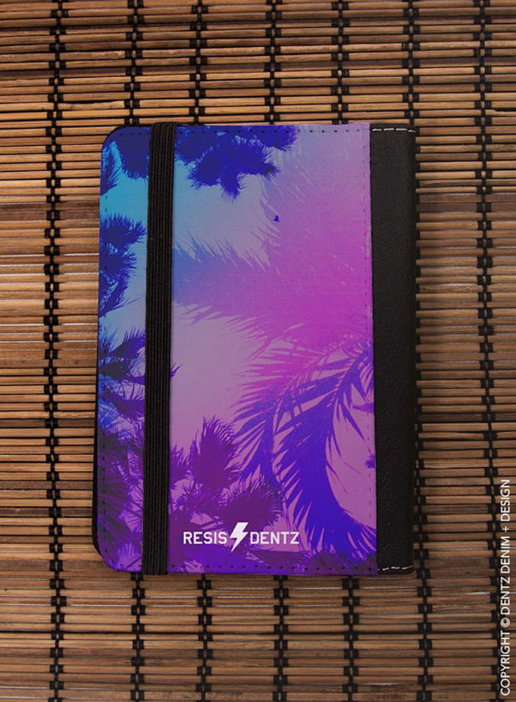Palm Tree, If There Aren't Palm Trees, I'm Not Going, Passport Covers, Passport Case, Gift for Traveler, Luggage, Travel Gift, Travel Wallet