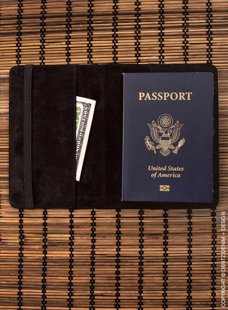 Inflatable Pink Flamingos Passport Cover - Passport Holder