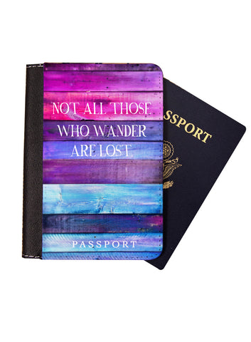 Mermaid Hair Don't Care Passport Cover - Passport Holder