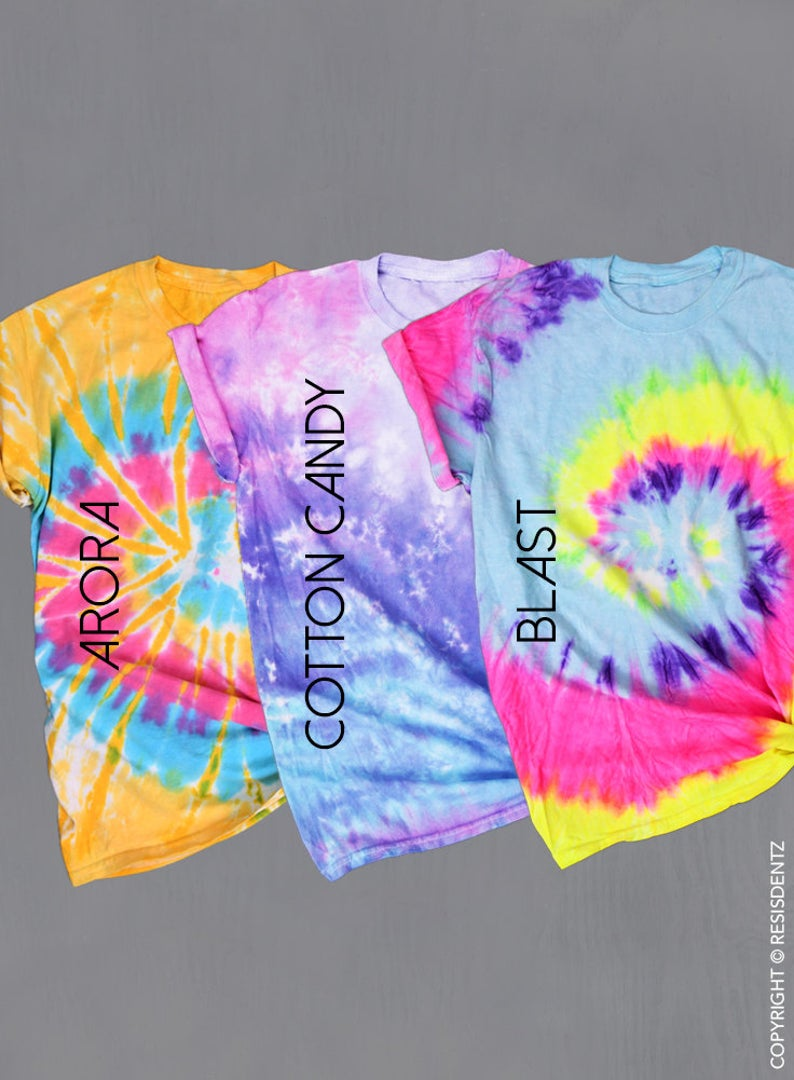Tie Dye Support Your Local, Halloween - Unisex Tie Dye T-Shirt