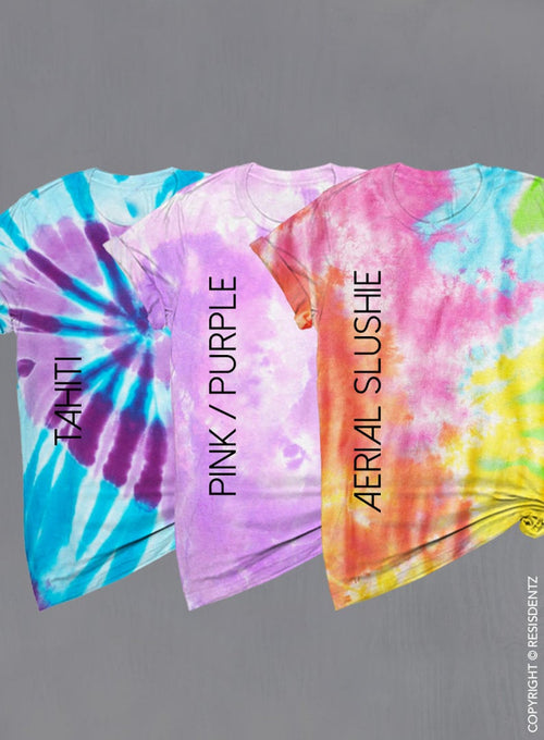 Mermaid Bride and Bridesmaid Tie Dye T-shirts, Trading My Tail for a Veil Party Our Tails Off Bachelorette T-shirts, Unisex tie dye tees