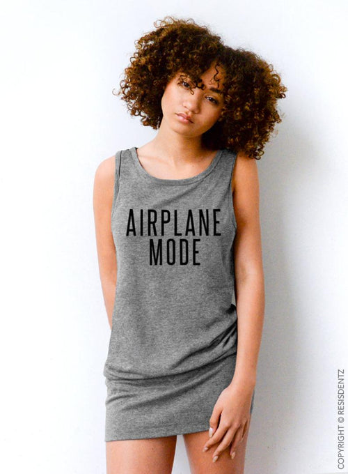 Airplane Mode - Tunic Tank Dress
