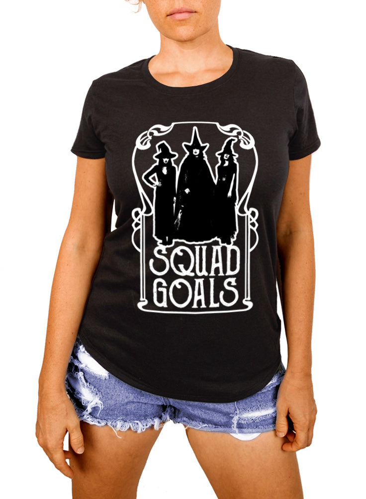 Squad Goals Witch Women's T-shirt - The Boyfriend Tee