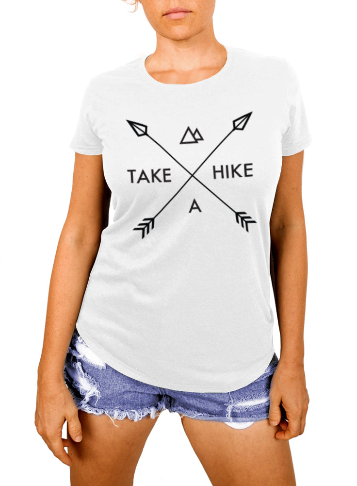 Take a Hike Women's Hiking T-shirt - The Boyfriend Tee