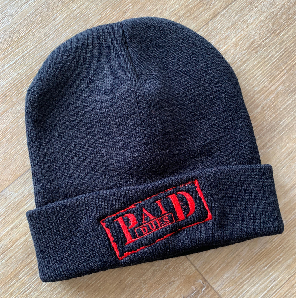 Paid Dues Beanie (BLACK)