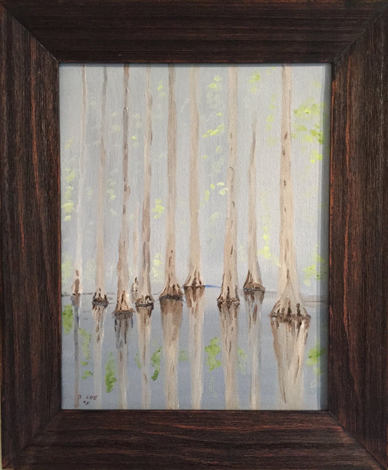 "Bruce Ide - ""Withlacoochee Reflections"" Oil Painting"