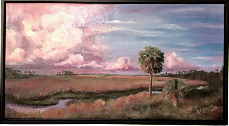 "Brenda Osborne - ""Peaceful Morning"" Acrylic Painting"